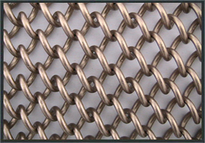 metal wire mesh fabric offers a modern decoration style for constructions when it is used as curtains it offers a variety of color changes with light - Decorative Wire Mesh